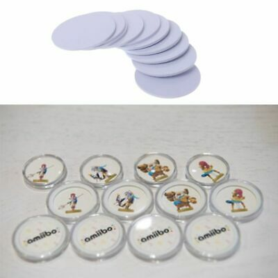 New 10PCS Ntag215 NFC Tags Phone Available Adhesive Labels RFID Tag 25mm