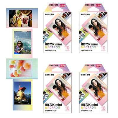 Fujifilm Instax Mini Film Macaron Instant Photos 40 Sheets For Mini 8 9 70 90 US