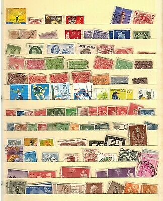 Lot of Australia Old Stamps Used/MH