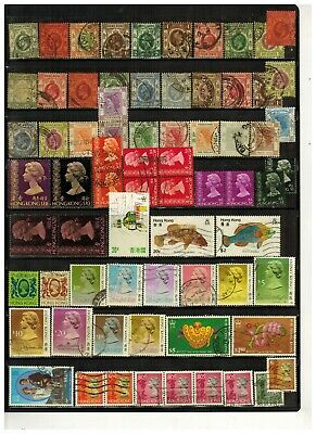 Lot of Hong Kong Old Stamps Used