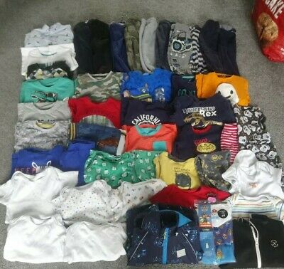 Large Bundle of boys clothes 18 - 24 mths mixed items complete wardrobe