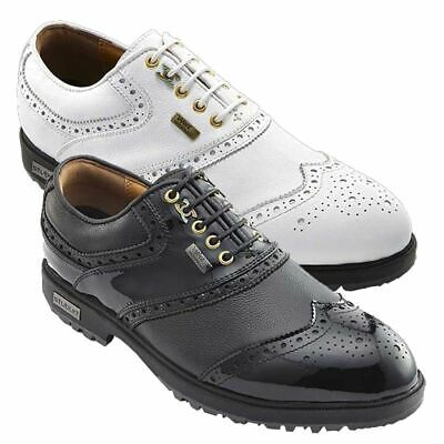 Stuburt Classic Tour Event Waterproof Spikeless Golf Shoes Leather