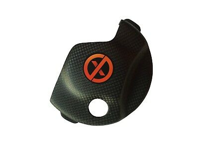 Carbon Fiber Ignition Cover Guard Yamaha YZ 250FX / WR 250F 2015/2018