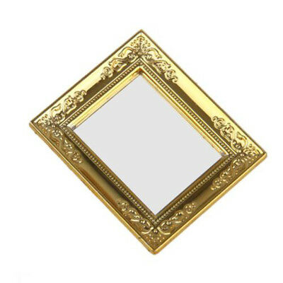 Mirror For Dolls House Furniture Craft Accessory Decoration Mini Toy Durable