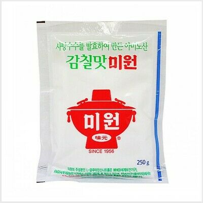 Korean No.1 MSG Monosodium Glutamate  Miwon Umami Seasoning Extract 250g 미원