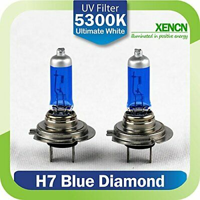 2x HALOGEN BULBS XENCN H7 100W PX26d 12V WHITE >5000K XENON EFFECT OFF ROAD