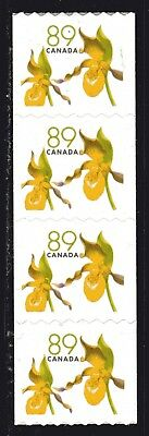 2006 Canada SC# 2129 Yellow Lady Slippers Coil Stamps Strip of 4 Lot#C251 M-NH