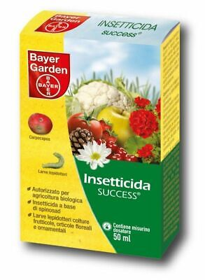 Insecticide Organique Success Bayer 50 Ml Potager, Fruit, Doryphore, Lepidoptera