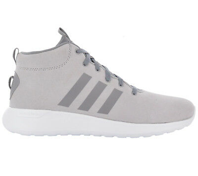 4053a3b0ac2e80 Adidas Men s Sneakers Cloudfoam Lite Racer mid Cf Shoes Grey Leather  Trainers