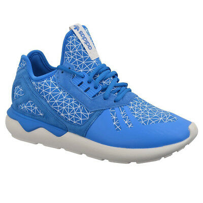 new style 45b2e f6699 Adidas Tubular Runner Mens Sneakers Shoes Blue Sneakers Leisure New M19641