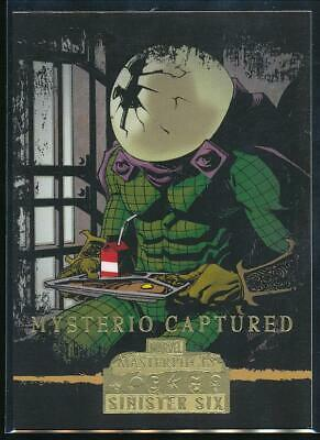 2008 Marvel Masterpieces 3 Trading Card #82 Mysterio Captured
