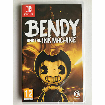 Bendy and the Ink Machine (Nintendo Switch) New and Sealed