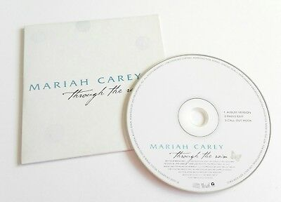 Mariah Carey Through The Rain Promo CD Single 2002 Spain Ultra Rare