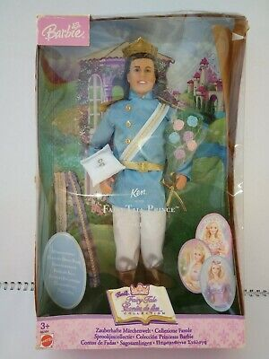 Vintage Barbie Doll Prince Ken - Fairy Tale Collection 2003 Fantasy Tales