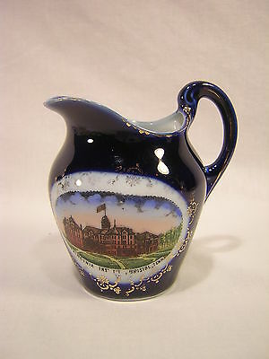 "Germany Souvenir China BRISTOL, TENNESSEE 3 1/2"" Pitcher"