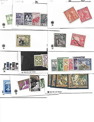 Malta Collection All Mint over 200 stamps