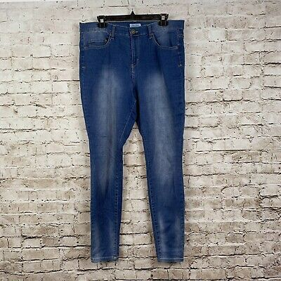 971e28e6f5c MUDD SKINNY FIT Jeans Juniors Size 17 Light Blue Faded Wash -  16.99 ...