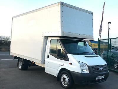Ford Transit T350 2.2Tdci 125Bhp Luton Van In White.  *full Engine Recondition*
