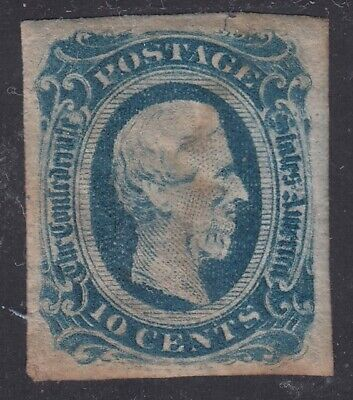 TDStamps: US Confederate States CSA Stamps Scott#12 10c Unused NG Stain