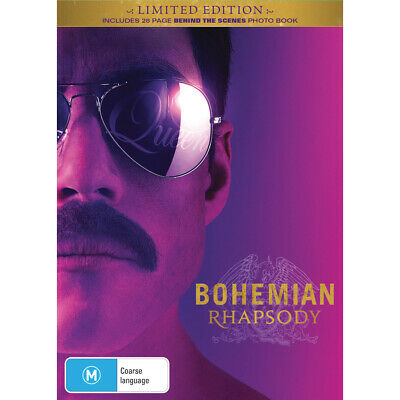 Bohemian Rhapsody BIG W Exclusive DVD