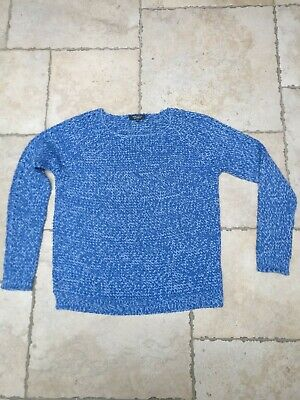 New Look Maternity Blue wool Jumper Size 12. Worn twice. Very good condition