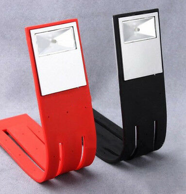 Hot Flexible Folding LED Clip On Reading Book H89ght Lamp For Reader Kindle H89