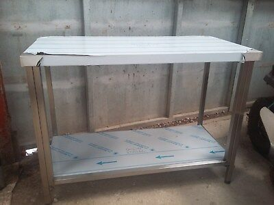 Stainless Steel Folding Table BRAND NEW