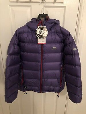 Mountain Equipment Women's Xero Hooded Down Insulated Jacket - Size Large - 14