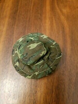 0654605d2ea 1 6 SCALE GEAR - Vietnam boonie hat with tiger stripe camouflage ...
