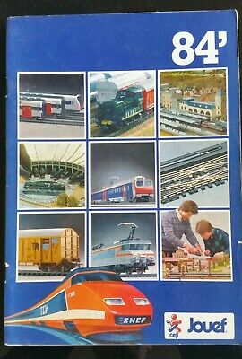 Catalogue Jouef 1984; La passion des trains sur 68 pages