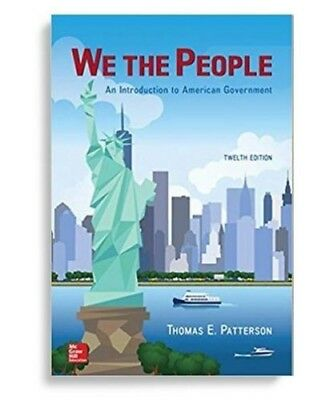 We the people 12 Edition By Thomas E.Patterson (EB00Ks, 2018) [PDF]