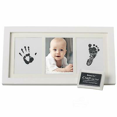 Baby Handprint and Footprint Kit - Photo Frame For Newborn Baby Girls And Boys