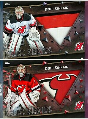 2019 Topps SKATE Home & Away Relic Marathon Keith Kinkaid DIGITAL 100cc
