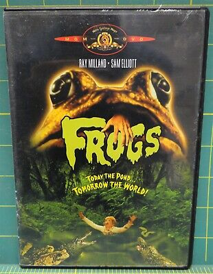 Frogs - Today the Pond, Tomorrow the World! DVD 1972