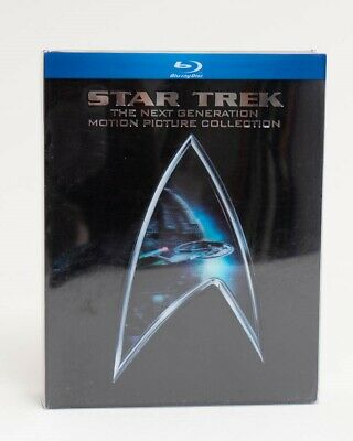 Star Trek: The Next Generation Motion Picture Collection (Blu-ray 2009, 5-Disc)