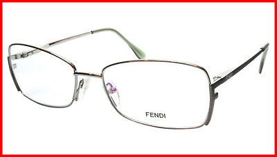0c9753bf7526 NEW FENDI EYEGLASSES Frame F960 770 Women Metal Red Italy Made 52-16 ...