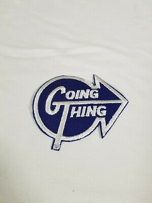 """SUPER Rare Vintage Antique """"GT"""" GOING THING Patch"""
