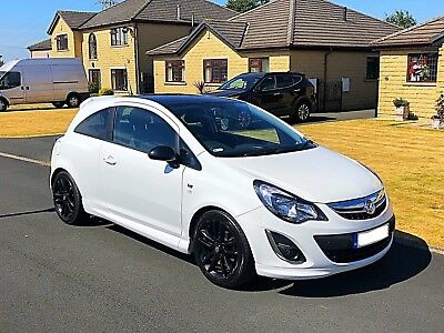 2014 Vauxhall Corsa Limited Edition 1.2 Petrol, 3 Door, White, Showroom Cond Car