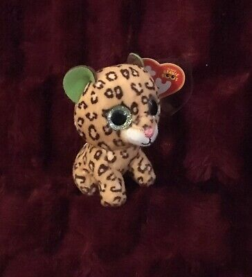 4e37cc99f8b McDonalds Plush Ty Teenie Beanie Boo Freckles The Leopard 2017 Happy Meal  Tag