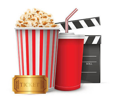 1 Lg popcorn AMC Theaters.EXP. 6-30-2020 EDELIVERY