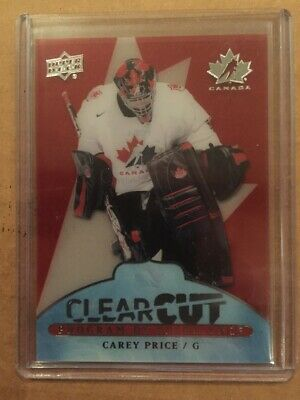 2017-18 UD Canadian Tire Team Canada Clearcut POE CAREY PRICE #1