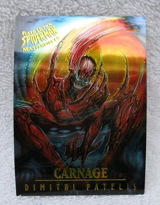 1995 FLEER ULTRA SPIDERMAN TRADING CARD, MASTERPIECES # 3 of 9