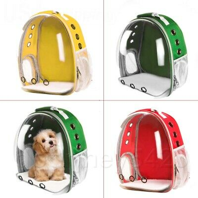 1x Portable Space Capsule Bubble Carrier Waterproof Backpack For Pet Cat Puppy