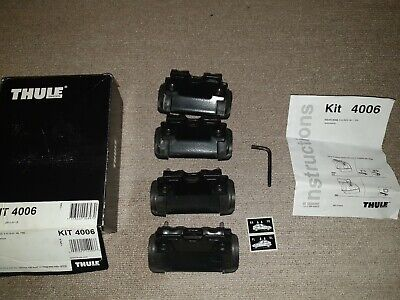 Thule 4006 Foot Kit Pack Complete with box