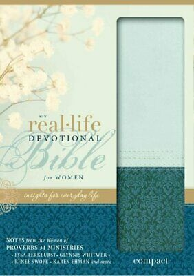 Real-Life Devotional Bible for Women : Insights for Everyday Life by...
