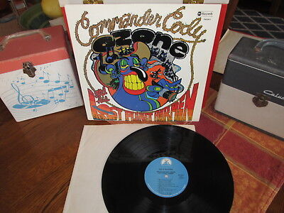 COMMANDER CODY & His LOST PLANET AIRMEN Lp LOST IN THE OZONE 1971 Paramount