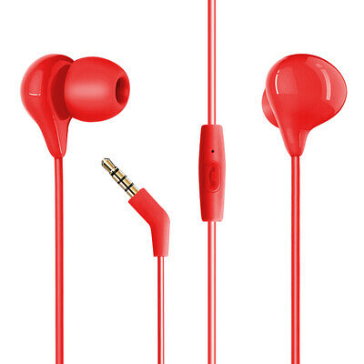 Hey Dr H86 In-Ear headphone in Red