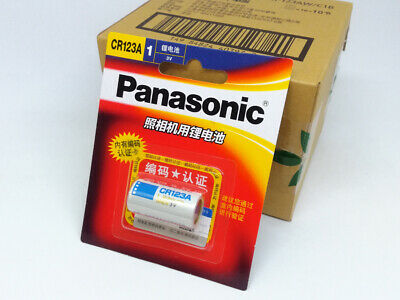 Panasonic CR123A CR17345 3V Li-ion Battery Camera Non-rechargeable Batteries