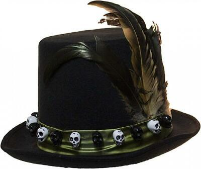 Jacobson Hat Company Men s 6 Inch Deluxe Voodoo Witch Doctor with Green. eed8b0d21920