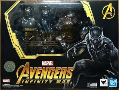 """Bandai S.H.Figuarts Marvel Avengers Infinity War Black Panther 6"""" inch in stock"""